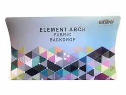 EXIBU Arch Fabric Pop Up