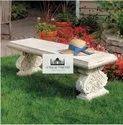 Luxury Sandstone Garden Bench