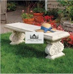 Luxury Sandstone Garden Bench