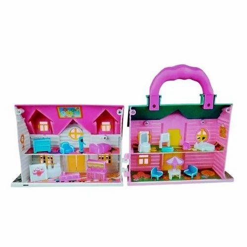 Mini Doll House Toy Gudiya Ke Liye Ghar ग ड य घर