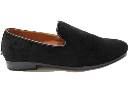 7dc3f8eaeff9 Classic Plain Velvet Slipons Domani359 Shoes