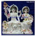 Gauri Shankar Marble Statues