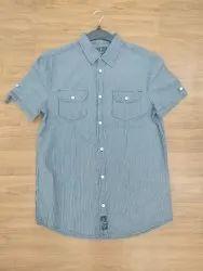 100% Hemp Cotton Woven  Shirts