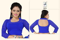 Designer Cotton Lycra Blouse