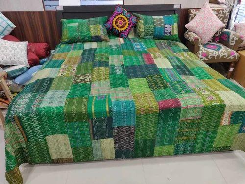 Twin Kantha Quilt Bedspread Bed Cover Bedding Kantha Quilt Kantha Blanket