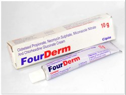Clobetasol Propionate, Neomycin Sulphate, Miconazole Nitrate And Chlorhexidine Gluconate Cream
