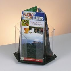 Revolving Brochure Holder