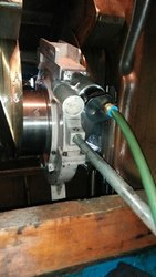 Onsite/In Situ Crankshaft Grinding Of Yanmar S185L-ST Engine