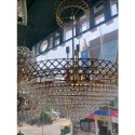 Crystal Led Heavy Round Chandelier