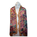 Merino Wool Digital Print Scarves