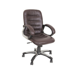 Synthetic Leather Revolving Corporate Chair
