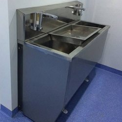 Foot Operated Scrub Sink