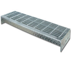 Mild Steel Stair Tread Grating