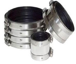 Stainless Steel (SS304) Coupling With EPDM Rubber