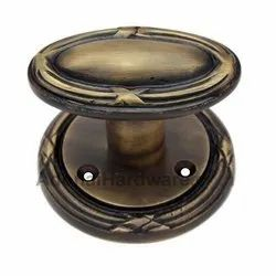 Ibneiah Brass Door Knob with Rose