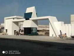 Industries Area Gate Glazing Work