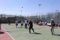 Acrylic Synthetic Volley Ball Court Floor