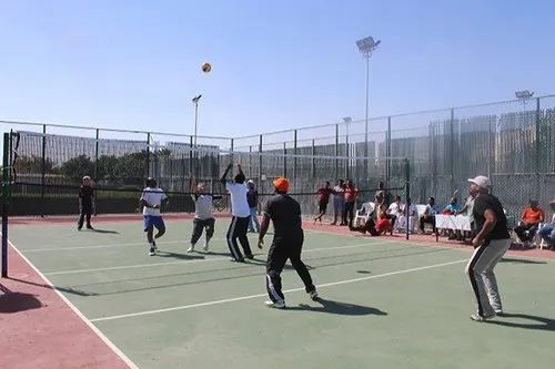 Acrylic Synthetic Volley Ball Court Floor