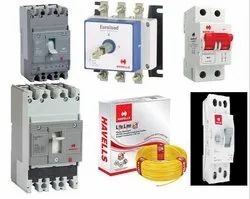 Havells Make Industrial Switch Gear , control Gear & General Purpose Switchgears, Wires & Cables