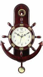 Brown Wood Promotional Designer Wall Clocks