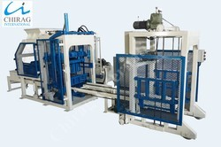 Multi Material Interlocking Brick Machine