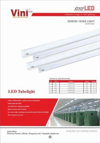 Tube Lights Linear Tube 36w Manufacturer From Delhi