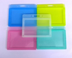LC Plastic ID Card Holder CH 39