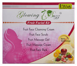 Glowing Buzz Fruit Facial Cream, for Parlour