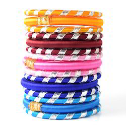 Indian Handcraft Fashionable & Stylish Silk Thread Bangles
