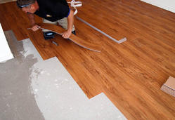 Vinyl Flooring Services, Minimum Area: 100 sq ft