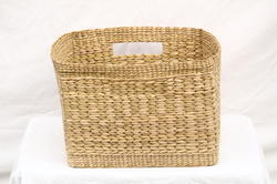 Sea Grass Square Storage Basket -14.5 x 14.5 x 2