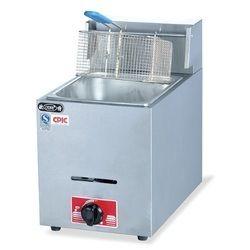 Stainless Steel Table Top Gas Deep Fryer