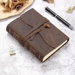 Leather Journals, Leather Diaries, Vintage Leather Journal, Notebooks, Vintage, Handmade