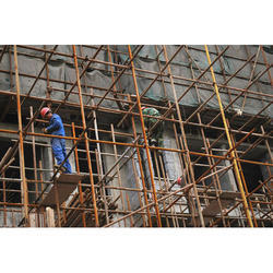 Color Galvanized Steel Scaffolding, For Building Construction