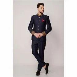 Party Blue Designer Men Suit, Size: 36 - 42