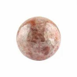 Natural Sunstone Spheres Balls Home Decor Crystal Designer Gemstones 48mm - Customized