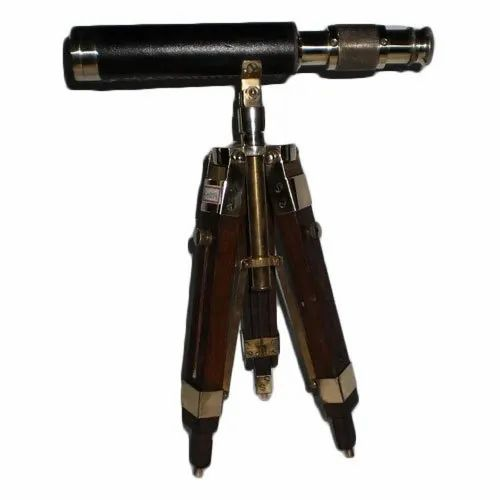 Sir Brass Antique Telescope
