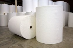 Non Woven Fabric Rolls - White
