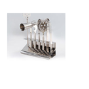 Shinny Polished Steel Bar Tool Set, For Hotel/restaurant