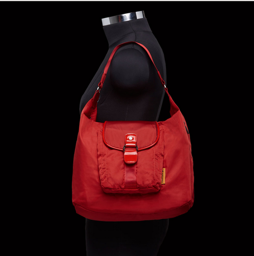 A0215nrd01 Fastrack Women Polyester Red Bag