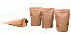 Jute Look Standup Pouches Bags