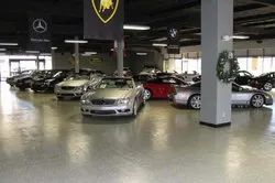 Showroom Floor Coating Service