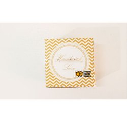 Zig Zag Pattern Yellow Designer Cake Boxes