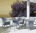 Patio Rattan Chair Set