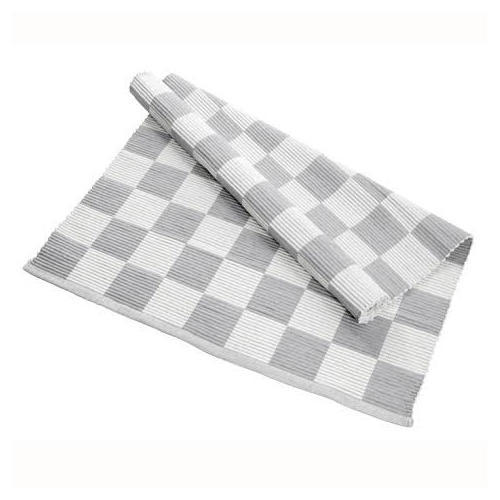 Checked Rectangle Cotton Rugs