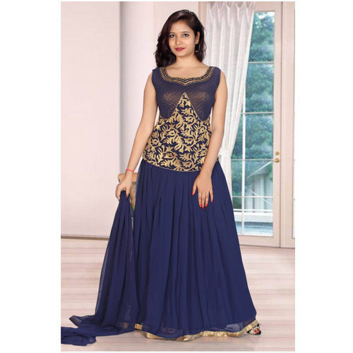 Ladies Designer Long Dress at Rs 1195 /piece | Long Gowns | ID ...