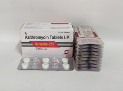 Azithromycin 250 Mg Tablet, 10X6, Prescription