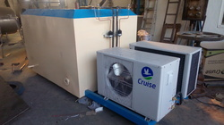 Freon Refrigeration System For milk Processing Plant