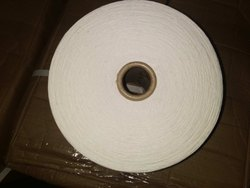 White Ring Spun COMPACT YARN COMBED COTTON, For Knitting & Weaving, Packaging Type: Carton Packing