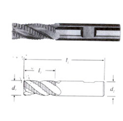 Solid Carbide Roughing End Mill